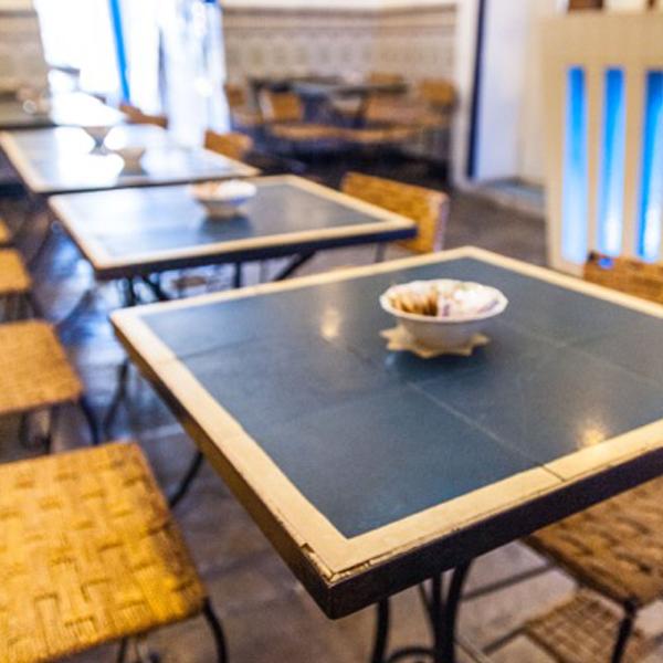 Mesas Cafe Azul